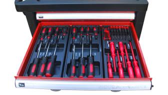 Bästa vännen i garaget - Verktygsvagn med 220 verktyg. Hos Verktygsboden
