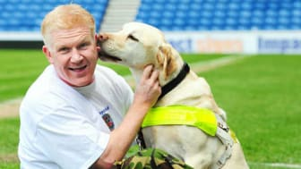 The adventures of Scott Cunningham MBE and Guide Dog Travis