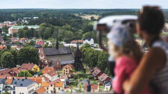 Vy över Söderköping