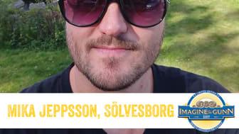Mika Jeppson från Sölvesborg - vinnare av Imagine & Gunn 2016.