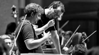 Generalprobe Jonas Kaufmann spricht mit Jochen Rieder Goetheanum _ by Benno Hunziker