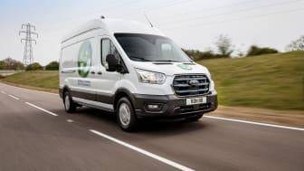Testovací jízdy evropských zákazníků jsou součástí vývojového programu modelu E-Transit, který se začne prodávat v roce 2022.