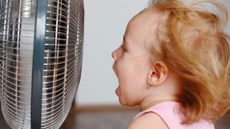 Elkjøp har solgt betraktelig flere vifter og aircondition-produkter i mai i år sammenlignet med i fjor.