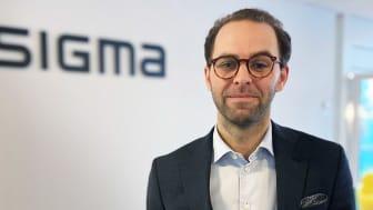 Daniel Gyllensparre utses till ny chef för Sigma Young Talents verksamhet i Stockholm.
