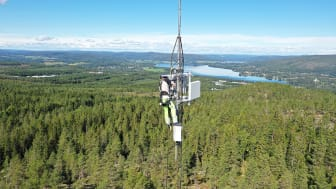 Stort intresse för luftburet bredband i Ockelbo