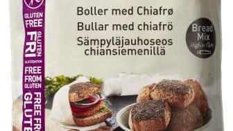 Glutenfri boller med chiafrø