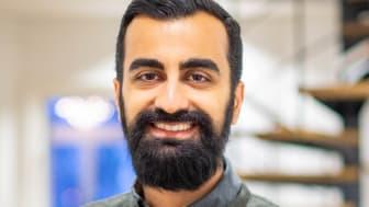 Amir Omed, produktägare företagslån Lendo_stående