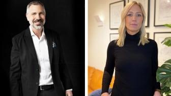 Mikael Meyer, VD SMH och Marie Jacobsson, Avdelningschef Independia