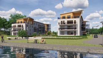 HSB utvecklar nya bostäder i Oxelösund