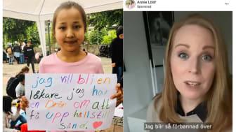 Reza Rahimi: Annie Lööf, se mammorna i ögonen och lyssna på dem!