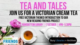 Mrs Swanson invites you to a Victorian cream tea!