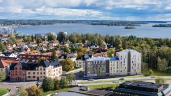 Pressinbjudan: Första spadtaget för Riksbyggens seniorbostadsrätter i Vasastaden i Västerås