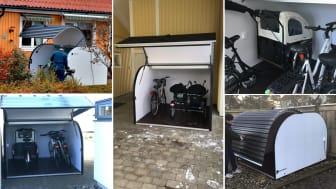 Äntligen en lättillgänglig förvaringslösning som fungerar. LSS grupp- och äldreboenden väljer Doomans smarta garage för cyklar och specialfordon.
