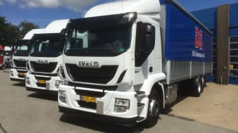 Nye lastbiler til DKI Logistics Group A/S