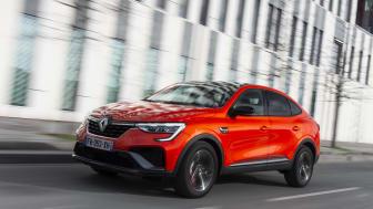 Renault Arkana - priser och orderöppnande i Sverige