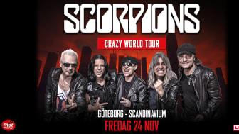 Scorpions - The Crazy World Tour!