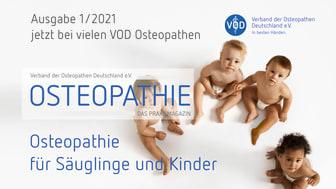 """""""Osteopathie – das Praxismagazin"""": Neue Ausgabe jetzt bestellen!"""