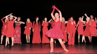 Woman in Red till Gävle!