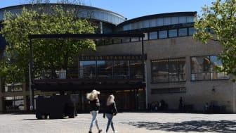 Stadshallen i Lund: äntligen klara-färdiga-gå