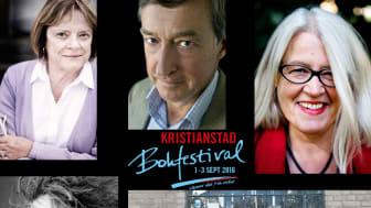 De första namnen till årets Bokfestival!