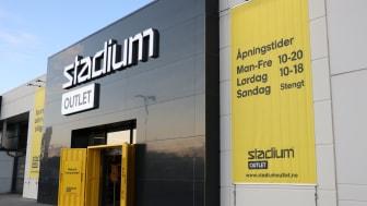 Åpningsfest för Stadium Outlet i Norge