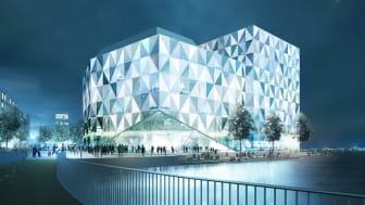 Prisma blir Helsingborgs nya stadsikon - mitt i den nya hållbara stadsdelen Oceanhamnen.