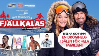 Mix Megapols Fjällkalas med Gry Forssell och Anders Timell