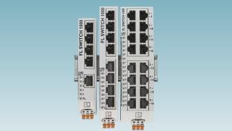 Kompakta switchar för montage i industriella kopplingsskåp från Phoenix Contact AB
