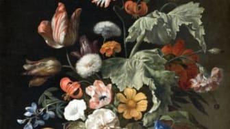 I den holländska 1600-talskonsten blomstrade blomstermåleriet som aldrig förr. Nu lyfter Hallwylska museet fram konstnärerna  Rachel Ruysch och Catharina Backer i en miniutställning.