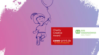 Die SOS-Kinderdörfer suchen, in Kooperation mit CEWE-Print.de, die besten Postkartenentwürfe von Profigraphikern und jungen Designtalenten aus ganz Deutschland: beim Charity Creative Award 2017