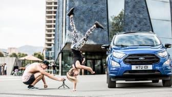 Ford EcoSport forgatás - Barcelona