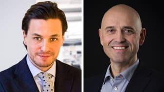 Marcus Carloni, CEO, Flowbox and Eivind Bergsmyr, Partner, Viking Venture.