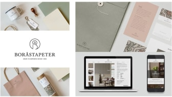 Boråstapeter get a new logo and a new look