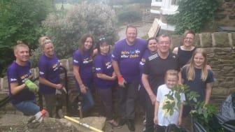 Green fingered Thomson staff support local stroke survivors