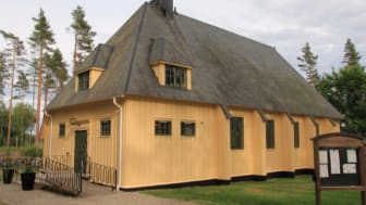 Spannarboda kyrka - en av kyrkorna i Näsby Fellingsbros församlingar.
