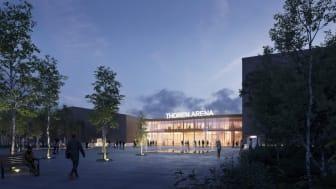 TG hallbygge äntligen igång - väntas stå klart våren 2022