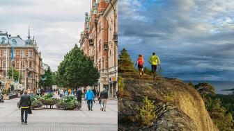 Härnösand och Sundsvall kan erbjuda det som krävs för den nya myndigheten. Foto vänstra bilden: Evelina Ytterbom