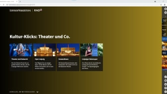 "City Guide Leipzig - Rubrik ""Kultur-Klicks: Theater und Co"""