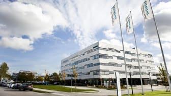 Foto: Siemens' danske hovedkvarter i Ballerup.