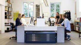 Arktitektkontoret Lokal XXX Arkitekter har tillsammans med en arbetsgrupp på Eslövs folkhögskola arbetat fram hur det nya Multihuset ska se ut.