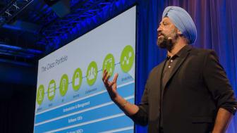 Zorawar Biri Singh är Cisco globala teknikchef samt ansvarig för molntjänster och plattformar. Han berättade om Ciscos framtidsplaner på Cisco Connect 2016
