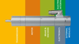 Den moduluppbyggda drivlösningen ECI-42 gör det möjligt för tillverkare av medicinsk utrustning att sätta ihop applikationsanpassade drivenheter genom att kombinera ett stort antal olika moduler.