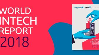 Capgemini släpper World Fintech Report 2018 – 'Samarbeta eller försvinn' är domen