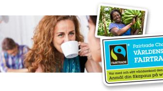Fairtrade Challenge - 400 000 svenskar i världsrekordförsök