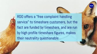 Timeshare companies and RDO would rather you didn't seek independent advice