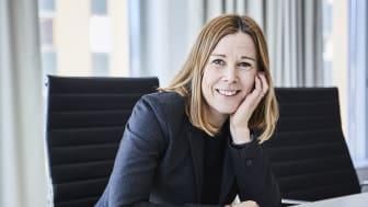 """""""De senaste fem åren har fonden överavkastat drygt 20 procent mot sitt jämförelseindex"""", säger Åsa Wallenberg, vd SPP Fonder."""