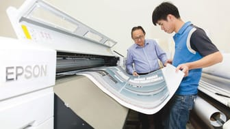 With the Epson SureColor SC-B7070, Poster Connection has been able to speed up its turnaround time for print jobs by 20 per cent.