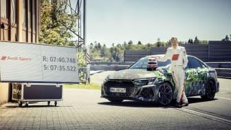 Frank Stippler fra Audi Sport og rekord-tiden fra Nürburgring Nordsløjfen