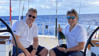 "The idea of an ""extreme"" vacation was sparked by brothers James (left) and Nick Barke (right), owners at Boats.co.uk Charters when they discovered their own love of ""real sailing"" in December 2019."
