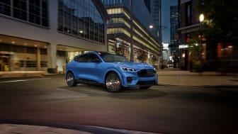 Mustang Mach-E GT kommer till Europa mot slutet av 2021.